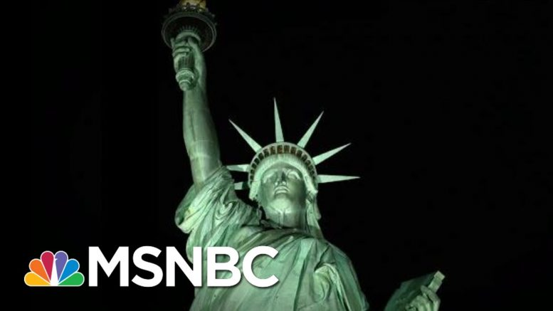 Ken Cuccinelli: 'Give Us Your Tired' Poem Referred To People From Europe | The 11th Hour | MSNBC 1