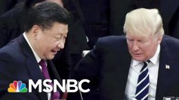 Markets Open Sharply Lower After Recession Warning | Velshi & Ruhle | MSNBC 9