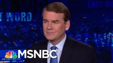 Michael Bennet On Breaking News That Hickenlooper Will End Presidential Bid | The Last Word | MSNBC 10