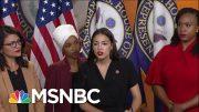 Donald Trump Demands Israel Retaliate Against 'The Squad'   The Beat With Ari Melber   MSNBC 3