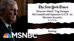 'Moscow Mitch' McConnell 'Fuming' With Trolling | The Beat With Ari Melber | MSNBC 1