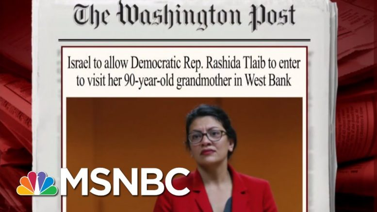 The Politics Of Israel's Travel Ban   Morning Joe   MSNBC 1