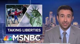 President Donald Trump Sued For Targeting Legal Immigrants | The Beat With Ari Melber | MSNBC 7