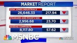 Dow Drops As Trump Announces New Tariffs On China | Katy Tur | MSNBC 8