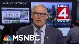 Governor Jay Inslee: Trump Is 'Horrifically Out Of Touch' With Americans | Velshi & Ruhle | MSNBC 7