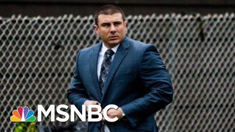 Daniel Pantaleo, NYPD Cop In Eric Garner Case, Fired   MSNBC 1