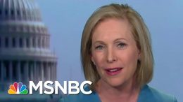 Full Gillibrand: 'Deeply Offended' By Joe Biden 1981 Op-Ed | MTP Daily | MSNBC 7