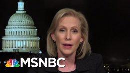 Senator Kirsten Gillibrand On Trump's Reversal On Background Checks | All In | MSNBC 9