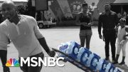 Newark Residents Forced To Face The Summer Heat To Pick Up Drinkable Water | The 11th Hour | MSNBC 2