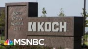 Exploring The Koch Brothers' Political Influence | Velshi & Ruhle | MSNBC 4