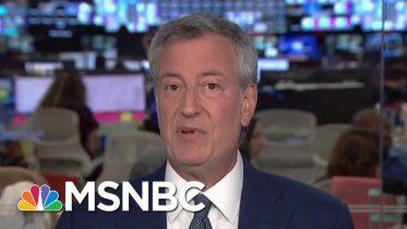 De Blasio On Pantaleo Decision: Speaks To How Much Reform Has Happened   Andrea Mitchell   MSNBC 6