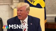 Trump Doubles His Controversial Message To Jewish Americans 'King Of The Jews' | Deadline | MSNBC 3