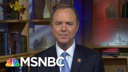 Representative Schiff Reacts To Trump's Jewish Loyalty Remarks   Morning Joe   MSNBC 9