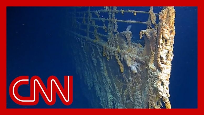 New video reveals Titanic being devoured 1