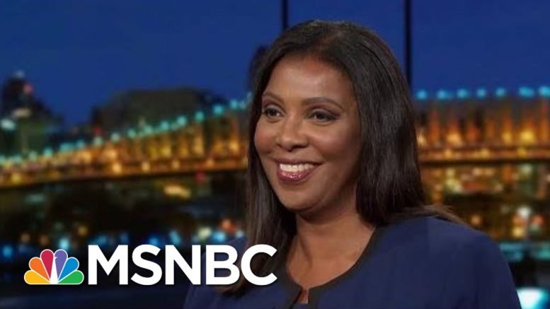 NY AG Letitia James Undaunted By Trump Frenzy To Keep Finances Hidden   Rachel Maddow   MSNBC 1