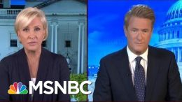 Joe Scarborough: 'Manufacturing Outlook The Worst That It's Been In A Decade' | Morning Joe | MSNBC 7