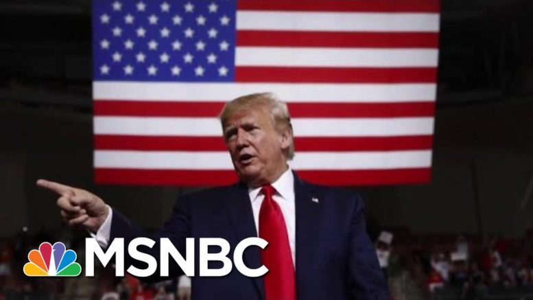 No Comfort To Be Found For President Donald Trump In Recent Polling | Deadline | MSNBC 1