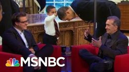 Pete Souza On Throwing 'Shade' At Trump | All In | MSNBC 2