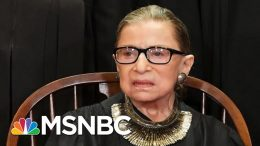Supreme Court Reveals Justice Ginsburg Received Additional Cancer Treatment | The 11th Hour | MSNBC 2