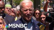 Former VP Joe Biden Defends Obama Legacy After Dems' Debate Attacks | Morning Joe | MSNBC 5