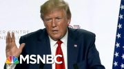 Why It's Dangerous Trump Thinks He Knows A Lot About The Environment | Velshi & Ruhle | MSNBC 3