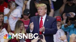Rep. Cummings Not Mentioned, But Subtext Of President Donald Trump Rally | Morning Joe | MSNBC 2