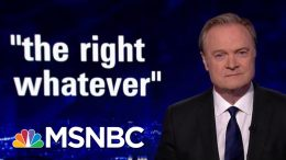 Lawrence: The Presidency Is An Oral Exam That Trump Fails Every Day | The Last Word | MSNBC 1