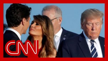 Melania Trump's moment with Trudeau goes viral 10
