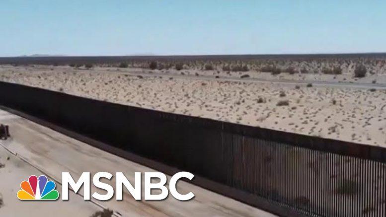 "WaPo: Trump ""Jokes"" About Pardons To Fast Track Border Wall | Velshi & Ruhle | MSNBC 1"