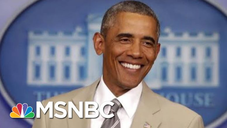 Remembering Barack Obama's Biggest Scandal: The Tan Suit | All In | MSNBC 1