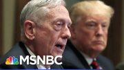 Atlantic: Mattis Found Trump To Be Of Limited Cognitive Ability, Dubious Behavior | Hardball | MSNBC 3
