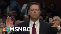 Fmr FBI Official: DOJ Ruling Reveals Comey Did Not Break The Law | The Beat With Ari Melber | MSNBC 3