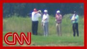 Trump went golfing as Hurricane Dorian threatens US 3