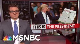 President Donald Trump Diverts Money For Schools To Build Wall | All In | MSNBC 2