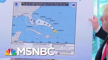 Joe: President Donald Trump Just Can't Say He's Sorry Over Hurricane Map | Morning Joe | MSNBC 1