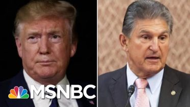 President Donald Trump And Joe Manchin Meet To Discuss Gun Legislation   Hallie Jackson   MSNBC 2