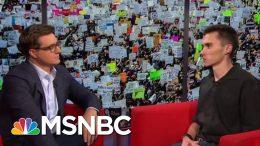 David Hogg On The Changing Gun Debate | All In | MSNBC 3