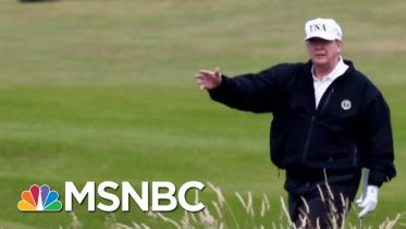 Report: Military Flight Redirected To Trump's Foreign Property | The Last Word | MSNBC 6