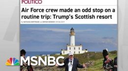 House Probes Military Travel To Troubled Trump Resort: Politico   Rachel Maddow   MSNBC 4