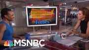 Forbes Faces Backlash For Leaving Women Off Innovators List   Velshi & Ruhle   MSNBC 2