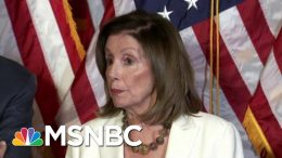 'Hell To Pay': Speaker Pelosi Threatens Trump Over Gun Control | The Beat With Ari Melber | MSNBC 1