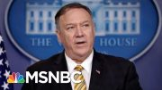 Mike Pompeo On John Bolton Firing: Trump 'Entitled To Staff That He Wants' | Velshi & Ruhle | MSNBC 2