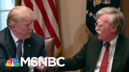 Controversial Trump Aide John Bolton Exits WH Knocking Trump | The Beat With Ari Melber | MSNBC 8