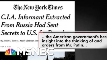 Sen. Chris Murphy On President Donald Trump's Problem With Spies | All In | MSNBC 3