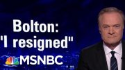 Intel Chair Schiff: Bolton Should Have Never Been National Security Advisor | The Last Word | MSNBC 4