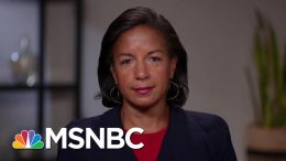 Fmr. National Security Advisor Susan Rice Discusses Bolton's Resignation | The Last Word | MSNBC 8