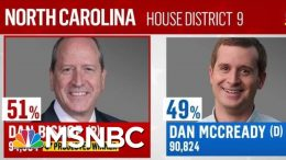 NBC News Projects Dan Bishop Wins North Carolina's Ninth District Election | The Last Word | MSNBC 7