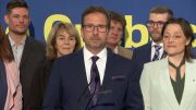 Bloc Leader Yves-François Blanchet discusses Quebec sovereignty at campaign launch 4
