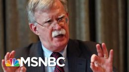 Trump: John Bolton Was Clashing With People In My Admin | Velshi & Ruhle | MSNBC 1