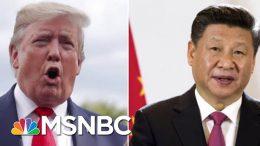 President Donald Trump Delays New China Tariffs Ahead Of Trade Talks | Velshi & Ruhle | MSNBC 3
